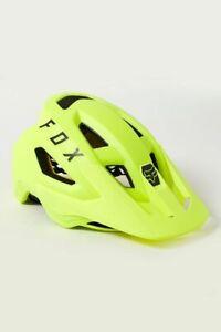 New Fox Racing Speedframe MIPS helmet Flo Ylw, Size Small, 26712-130-S