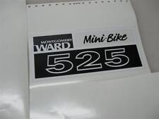 minibike mini bike decals wards sticker 323 424 525 minibike Smaller version