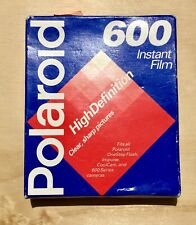 Polaroid 600 Instant Film High Definition Fits All OneStep Flash Cameras - New