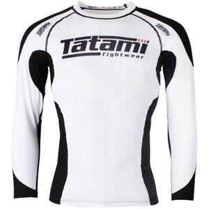 Tatami Fightwear Technical Long Sleeve Rashguard - White