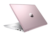 HP Pavilion 14-bf015na FullFeatured FHD Laptop, i5-7200 8GB 256GB, PINK, 2GS66EA