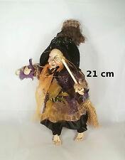 sorciere ,porte bonheur,20cm,objet de légende, poupée, witch, heks,sorcière  G27