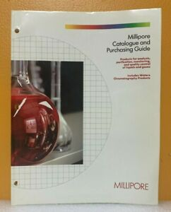 Millipore Catalog and Purchasing Guide.