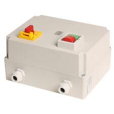 Elektromotor,automatischer Stern-Dreieck-Starter 4002, bis 7,5KW + Hauptschalter