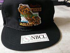 Grambling Tigers Bayou Classic Southern Jaguars Vintage Black Baseball Cap New