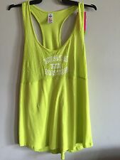 Zumba. Go Team Long Loose Racerback. Green. XL