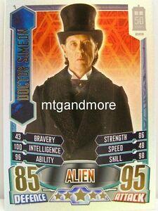 #007 Doctor Simeon - Rainbow Foil - Alien Attax Doctor Who - 50th Anni