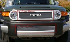 Toyota FJ Cruiser 2011 to 2017 Billet Grille Grills (upper + bottom)