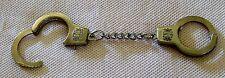 Schlüsselanhänger Handschellen mini silberfarben Handfesseln