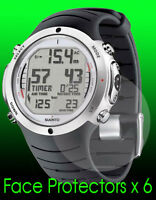Suunto D6i watch face protector x 6 protection
