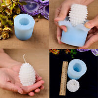 Pine Cone Chiristmas Silicone Candle Mold Handmade Decorating Soap Craft