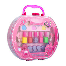 Cosmetic Toy Beauty Set Suitcase for Girl W/ Lipstick Eye Shadow Nail Polish