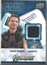 UD Captain America Civil War Memorabilia Card KH-HA Hawkeye - Leather Variant