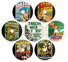 Tarzan Movie Collection (1918-1958) Action, Adventure Films (7 x DVD)