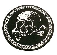 Jolly Roger with bandana Embroidered PATCH//BADGE Flag of Pirates