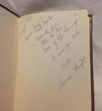 SIGNED book of poems THE HEART IS A PIONEER by Laura Wright 1979 HC VG