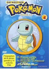 DIE WELT DER POKEMON 4   1. Staffel / 10-12    DVD #ZZ   Pokémon