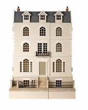 Großes luxuriöses Puppenhaus mit Untergeschoss - NEU