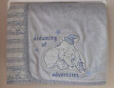 Disney Baby Dumbo Fleece Blanket Adorable Newborn Gift NEW