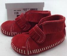 Leather Unisex Medium Width Baby Slippers