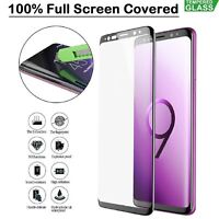 For Samsung S8 S9 Plus J4 J6 + A6 A7 A8 Full Tempered Glass Screen Portector