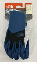 THE NORTH FACE etip CANYONWALL Unisex Gloves SHADY BLUE/BLACK Size XS *NEW*