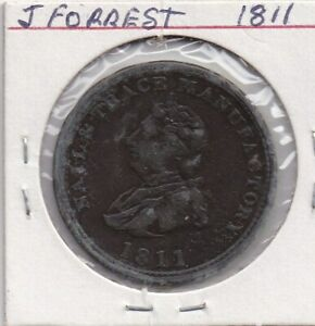 1811   J.FOREST    X   WORLD COINS  (   TOKENS )