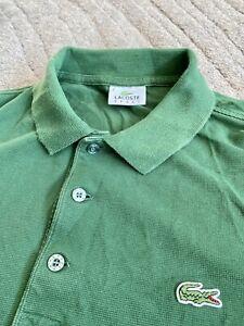 Lacoste Green Polo Shirt Size Small Oi Polloi.