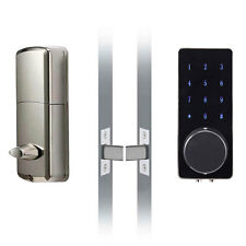 Smart Door Lock Bluetooth Keyless Home Entry Deadbolt Touch Password Silver US