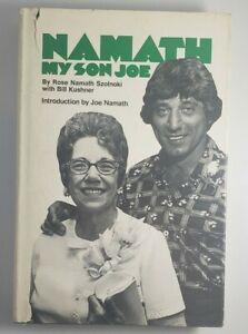 NEW YORK JETS Joe Namath My Son Joe Hardcover Book