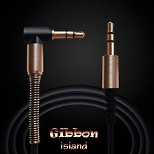 Audio aux cable-  75 cm 3.5mm audio cables male to male with gold plugs