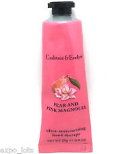 Crabtree & Evelyn PEAR AND PINK MAGNOLIA Ultra Moisturizing Hand Therapy 0.9 oz