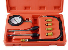 UK Petrol Engine Compression Tester Kit Set For Automotives and Motorcycles