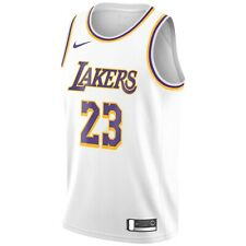 Nuevo 2020 Nike Los Angeles Lakers de la NBA LeBron James Asociación Swingman Jersey 23