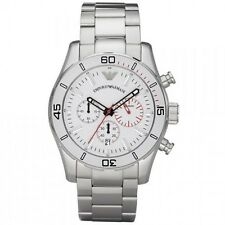 Emporio Armani AR5932 Mens Chronograph Date Stainless Steel Watch