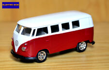 1:64 1963 VW T1 Bus Kombi [Red/Rubber Tyres] - New/Sealed/VHTF [E-808]