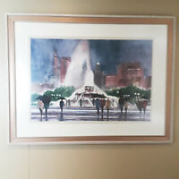 Russ Erickson Signed Numbered Print 32/450 Hand Made Paper 8943