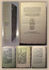 Schiffner Georg agricola 12 libros de Nagorno-y metalurgia 1928 minería XY