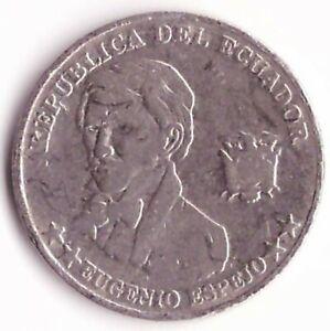 10 Centavos 2000 Ecuador Coin KM#106 - Eugenio Espejo