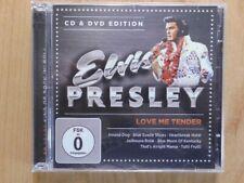 ELVIS PRESLEY CD & DVD: LOVE ME TENDER (WIE NEU,80 YEARS KING OF ROCK N ROLL)