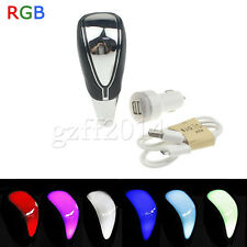 Shift Knob Touch Activated Full LED RGB Multi-color For Lexus Toyota Scion