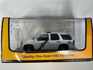O Scale - MTH RailKing 30-50078 Philadelphia PA Chevy Tahoe Police Cruiser O3789