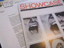 Vintage CELEBRITYMagazine+Promo Letter THEATRICAL VARIETY SHOWCASE1967 1st Issue