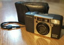Film Camera Pentax Espio 115G Point and Shoot Compact 38-115mm With Case