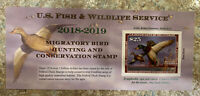RW85A 2018 $25 FEDERAL DUCK STAMP MALLARDS MNH