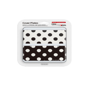 Nintendo 3DS Cover Plates 015  Punkte S/W
