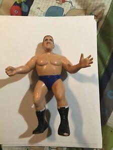 Vintage 1986 WWF LJN Bruno Sammartino Wrestling Action Figure Titan Sports WWE