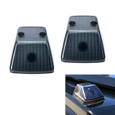 Gloss Black Smoked Lenses For Mercedes W463 G-Class Oem Front Turn Signal Lamp