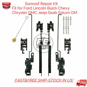 Sunroof Track Assembly Repair Kit For Chevy Trailblazer Blazer Envoy Saab 9-7x