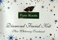 Diamond Facial Kit Pure Roots™ 300 Gm Skin Whitening Treatment Free Shipping